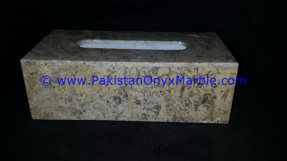 Marble Tissue Box Cover Holder Bathroom Kitchen Home Decor