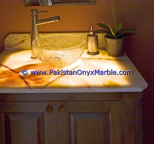 Backlit Onyx bathroom Vanity Tops-04
