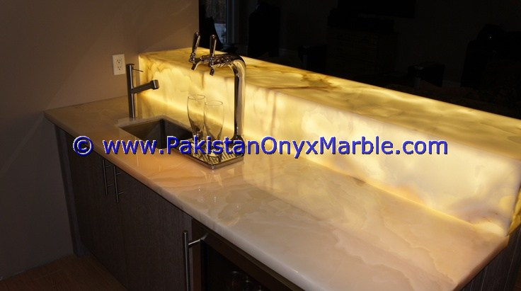 Backlit Onyx bathroom Vanity Tops-13