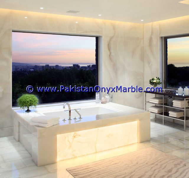 Backlit Onyx bathroom Vanity Tops-16