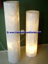 Backlit Onyx Columns Pillars and Pedestals-16