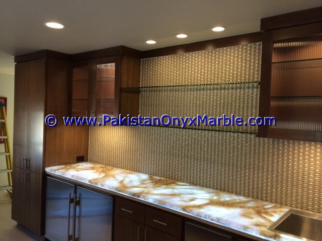 Backlit Onyx Counter Tops Bar Receiptions-13