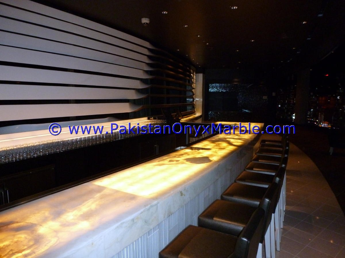 Backlit Onyx Counter Tops Bar Receiptions-24