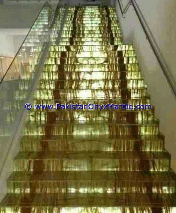 Backlit Onyx Stair Steps risers & Balustrade-03