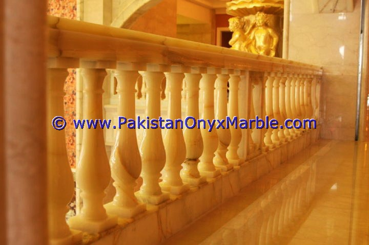Backlit Onyx Stair Steps risers & Balustrade-22