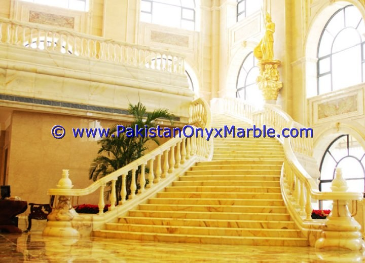 Backlit Onyx Stair Steps risers & Balustrade-23