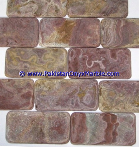 Multi Red Onyx Mosaic Tiles-03