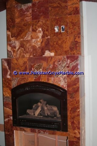 Multi Red Onyx Mosaic Tiles-26