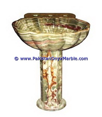 multi green Onyx Pedestals Sinks-01