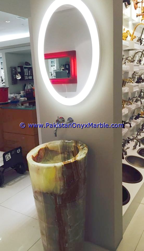 multi green Onyx Pedestals Sinks-03