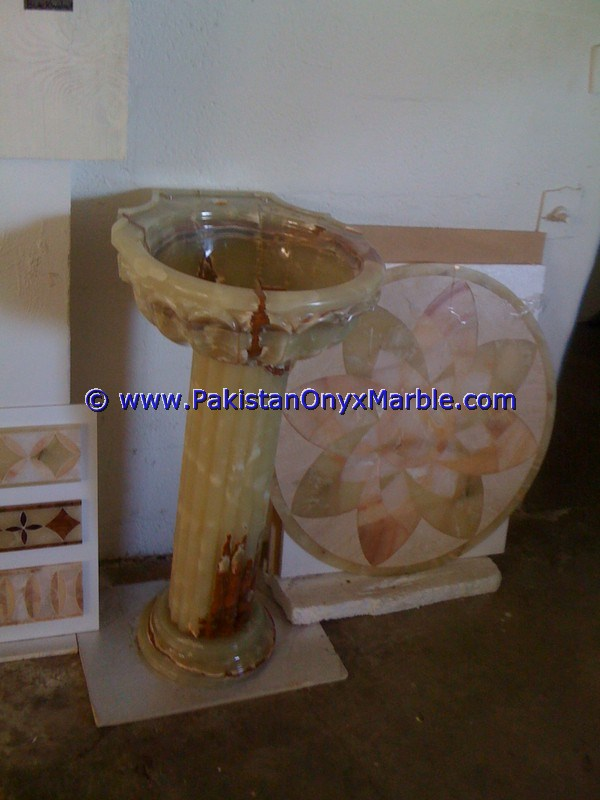 multi green Onyx Pedestals Sinks-06
