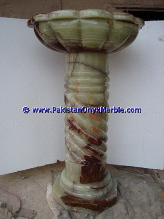 multi green Onyx Pedestals Sinks-07