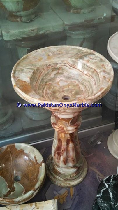 multi green Onyx Pedestals Sinks-08