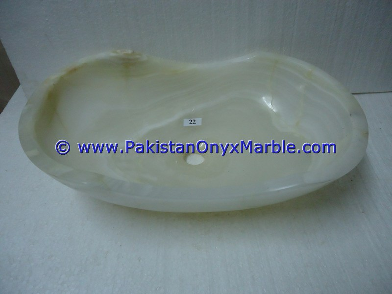 white Onyx sinks basins pedestal sinks kictchen sinks best quality white Onyx sink handmade vessel sinks Vessel Sink Shapes - Boat,Octagonal,Oval,Square,Floral,Free Form and Artful Design
